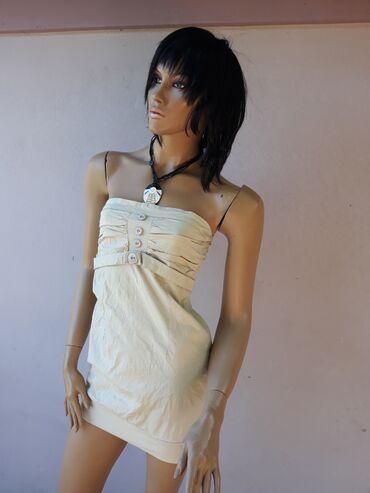 Pamučna haljinica bez ostecenja Veličina XS/S sa elastinom Pogledajte