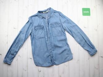 Женская джинсовая рубашка от бренда Tom Tailor,р.S Длина: 63 см Рукава