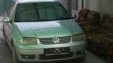 продаю volkswagen polo 2001 года. 1. 4 объем, автомат, японец в хороше в Бишкек
