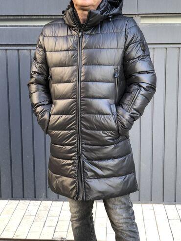 куртка в Кыргызстан: Новинка! Стильная куртка-пальто, подклад биопух. Наружная ткань с