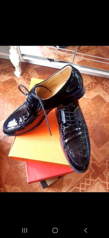 Продаю мужские Лакированные Туфли. Одевал только на свадьбе. Гаражное