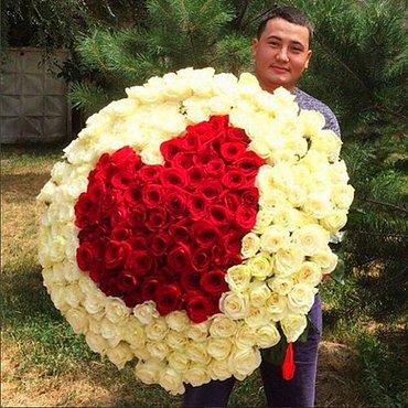 Местные розы. Акция продолжается!!! 101  РОЗА  - в Бишкек