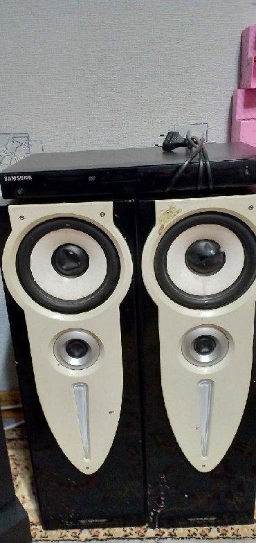 акустические системы qitech колонка в виде собак в Кыргызстан: Колонки с усилителем плюс двд Самсунг все в хорошем качестве
