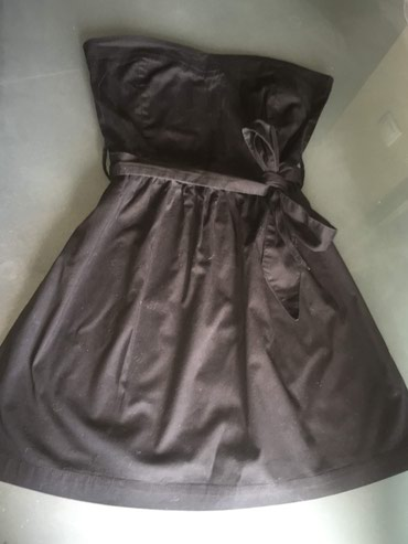 Terranova crna top haljina sa pojasom.... - Novi Sad