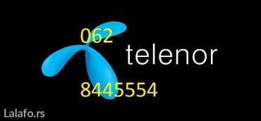 Telenor prepaid, ne koristi se 10 godina, samo dopunjavan - Belgrade