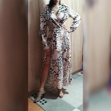 Dres velicina m - Srbija: Snake print-zmijski. Nova haljina,samo probana,v izraz,na
