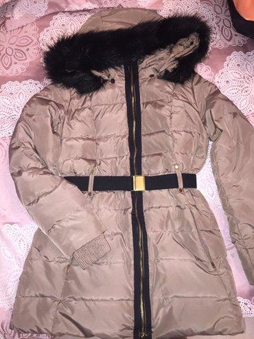 продаю зимнюю куртку mango размер s-m. очень теплая и удобная, длина п в Бишкек