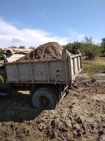 авто из германии в Ак-Джол: Гравий песок глина камни отсев щебень ЗИЛ 8тон доставка по городу