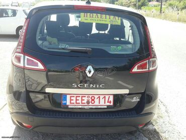 Renault Scenic 1.5 l. 2011   6200 km