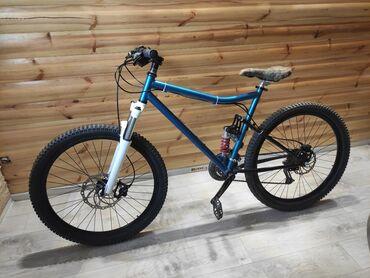 Продаю велосипед  Колеса 26 Тормоза гидравлика  Спереди 203 ротор сзад