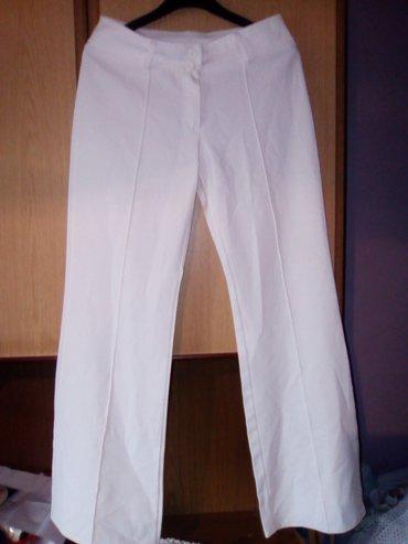 Bele pantalone velicina 29 elasticne - Varvarin