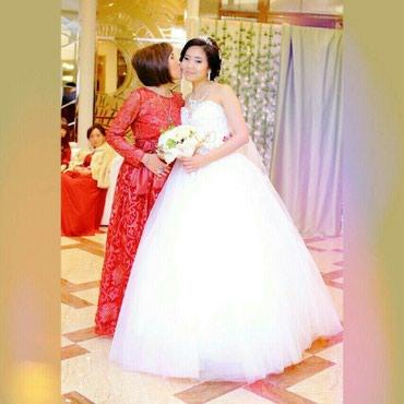 Продаю свадебное платье очень в Кок-Ой