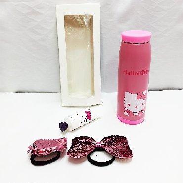 Набор Hello Kitty девочке!!В комплекте есть:Термос размером 22 см в