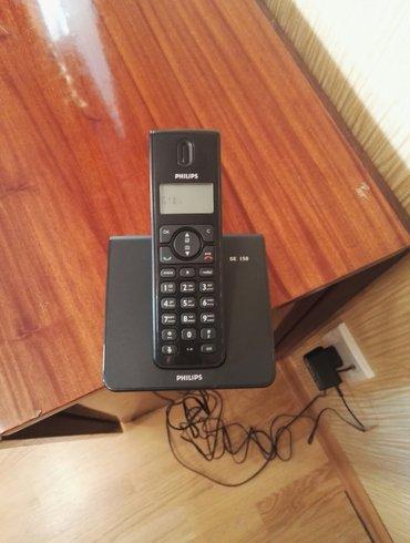 """телефоны флай 450 в Азербайджан: Радио телефон """"PLHILIPS"""" SE 150 """" имеет проблему с дисплеем. Сам"""