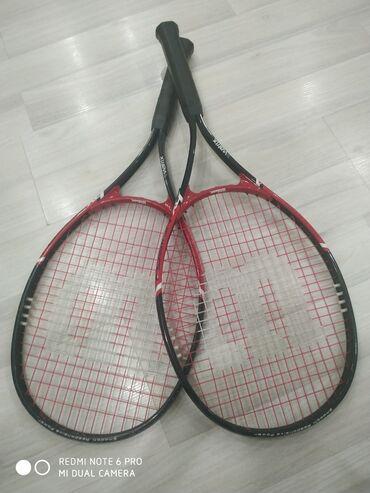 Ракетки - Кыргызстан: Б/У ракетки от большого тенниса.пользовался 2 месяца