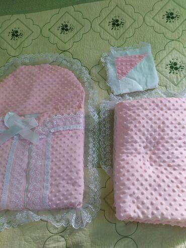 3в1 конверт одеяло, почти новая пользовались на выписке