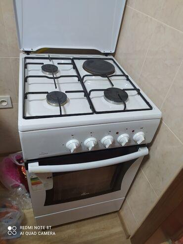 Состояние новой плиты! 3 газ одна электро!!! Газовыми пользовались