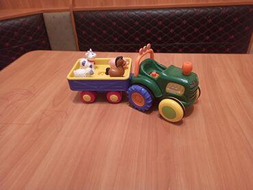 Трактор с животными в отл состояние покупали дороже отдам за 499с
