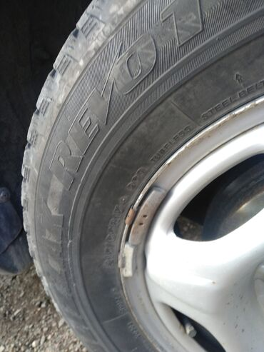 шины бу r16 в Кыргызстан: Диски+шины хонда 215/65/15 на сезон
