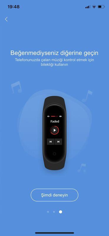 Şəxsi əşyalar Qubada: Miband 4 Tam original, herbir telefonu destekleyir