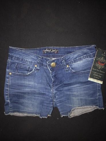 Nesal jeans - Srbija: Novi nesal jeans šorc sa etiketom veličina 27