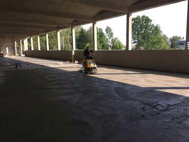 Građevinski materijali | Srbija: Betoniranje, gletovanje betona duplim helikopterima (fabrike,hladnjace
