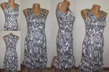 Haljina uz telo - Srbija: Sivo bela haljina uz telo