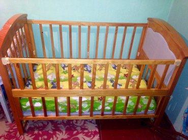 Продаю детскую кровать с матрасом(не ортопедический)в отличном