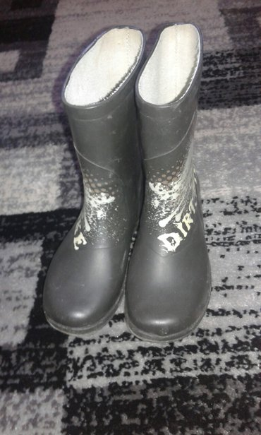 Gumene cizme za decake za kisu,br. 31; unutrasnje gaziste je 29 cm - Smederevo