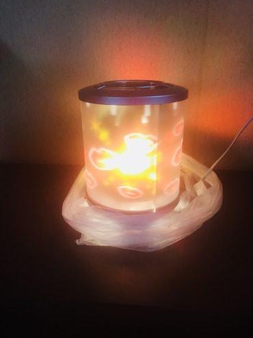 Bakı şəhərində Gece lampasi tezedir online dukandan alinib. Ichindeki shekil firlanir