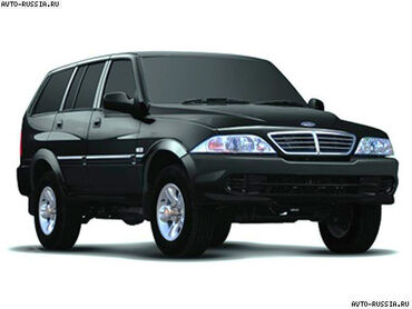 Ssangyong - Кыргызстан: Ssangyong Musso 2.9 л. 2001