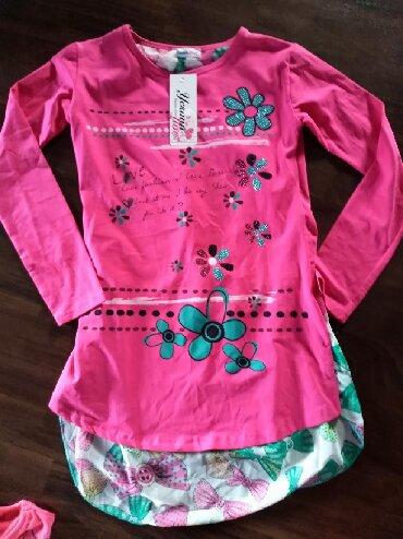 Dečiji Topići I Majice | Ruma: Nova tunika za devojčicu. Veličina 12. Turski proizvodjač. Tunikica je