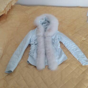 Turska zenska - Srbija: Zenska kozna jakna .Made in Turkish. Velicina M .Novo iz krojacnice