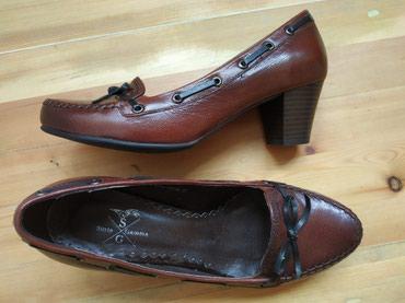 Туфли кожаные женские, 37 р., новые, 1200 сом в Бишкек
