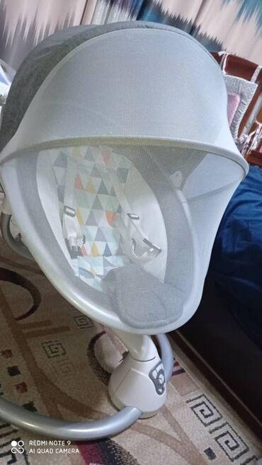 Детские электрокары - Кыргызстан: Продаю люльку детскую до 18 кг,в очень хорошем состоянии, пользовались