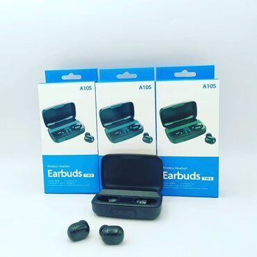 🎧 Earbuds TWS A10s - Yeni. Yüksək keyfiyyətli məhsuldur. Səs