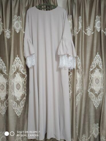 дубайские платья в Кыргызстан: Продаю платье Полуабайка Размер: 48-54 Ткань: Дубайский шелк