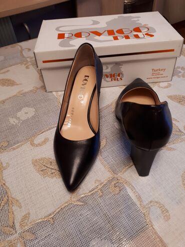 """Шикарные туфли""""ROVIGO PLUS"""" 100% кожа 37 размер удобной каблук и"""