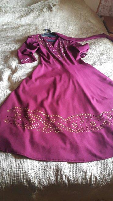 бордовый замшевый в Кыргызстан: Платье бу цвет бордовый с выбитыми узораминосила один раз очень хоро