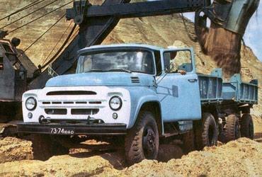 Зил и Камаз доставка сыпучих грузов по Чуйской области: Песок, гравий
