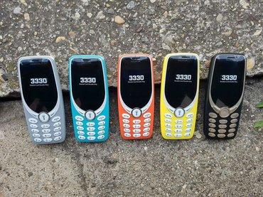 Nokia 3330(dual sim-2017)Ima Srpski meni,novi model nokia 3330,idu u - Beograd