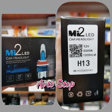 Led lampa H13 3 ay rəsmi zəmanətlə Avtomobil led işıqları. (Yazılı
