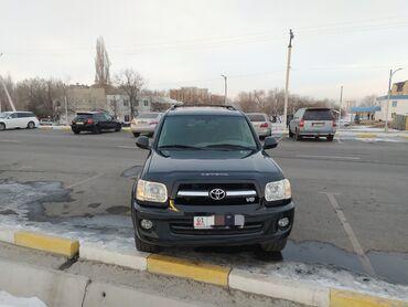 Toyota - Модель: Sequoia - Бишкек: Toyota Sequoia 4.7 л. 2004   160000 км