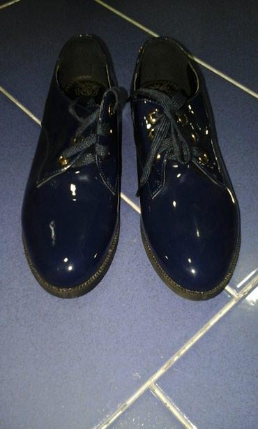 Оксфорды в Кыргызстан: Туфли новые, синие, 37 размер