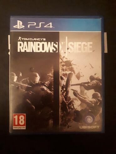 Ps4 disk Tom Clancy Rainbow Six Siege