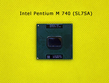 Intel Pentium M 740 (SL7SA)Noutbuk üçün prosessorSatışda başqa növ