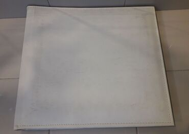 Άλμπουμ φωτογραφιών με ριζόχαρτο 40 φύλλων ( 34 x31 εκατ. ) σε λευκό