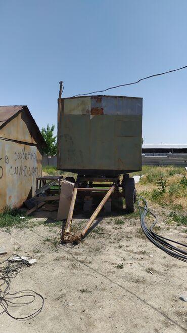 Гаражи - Бишкек: Продаю жилой ВАГОН . Размер вагона 2.40*4м . Теплоизоляция есть можно