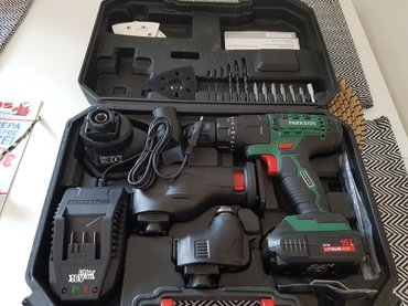 Parkside 4 in 1 cordless combination tool pkga 16 in West Thessaloniki