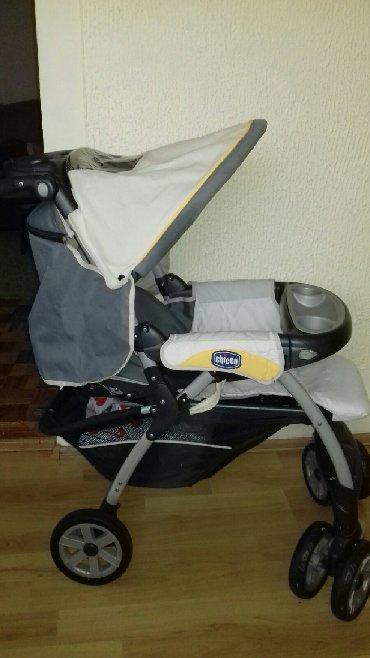 Bebi-kolica - Srbija: Ocuvana kolica za bebe Chicco,vise polozaja,extra upravljiva